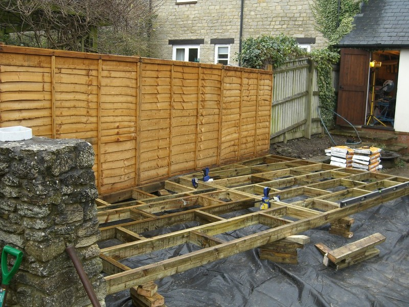 Colin m anderson garden landscaping and fencing decking for Garden decking near me